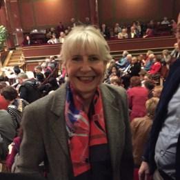 Madame Christina Meissner, première vice-présidente du Grand Conseil
