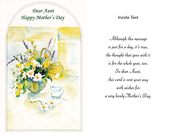 mothers day message for aunt ltt