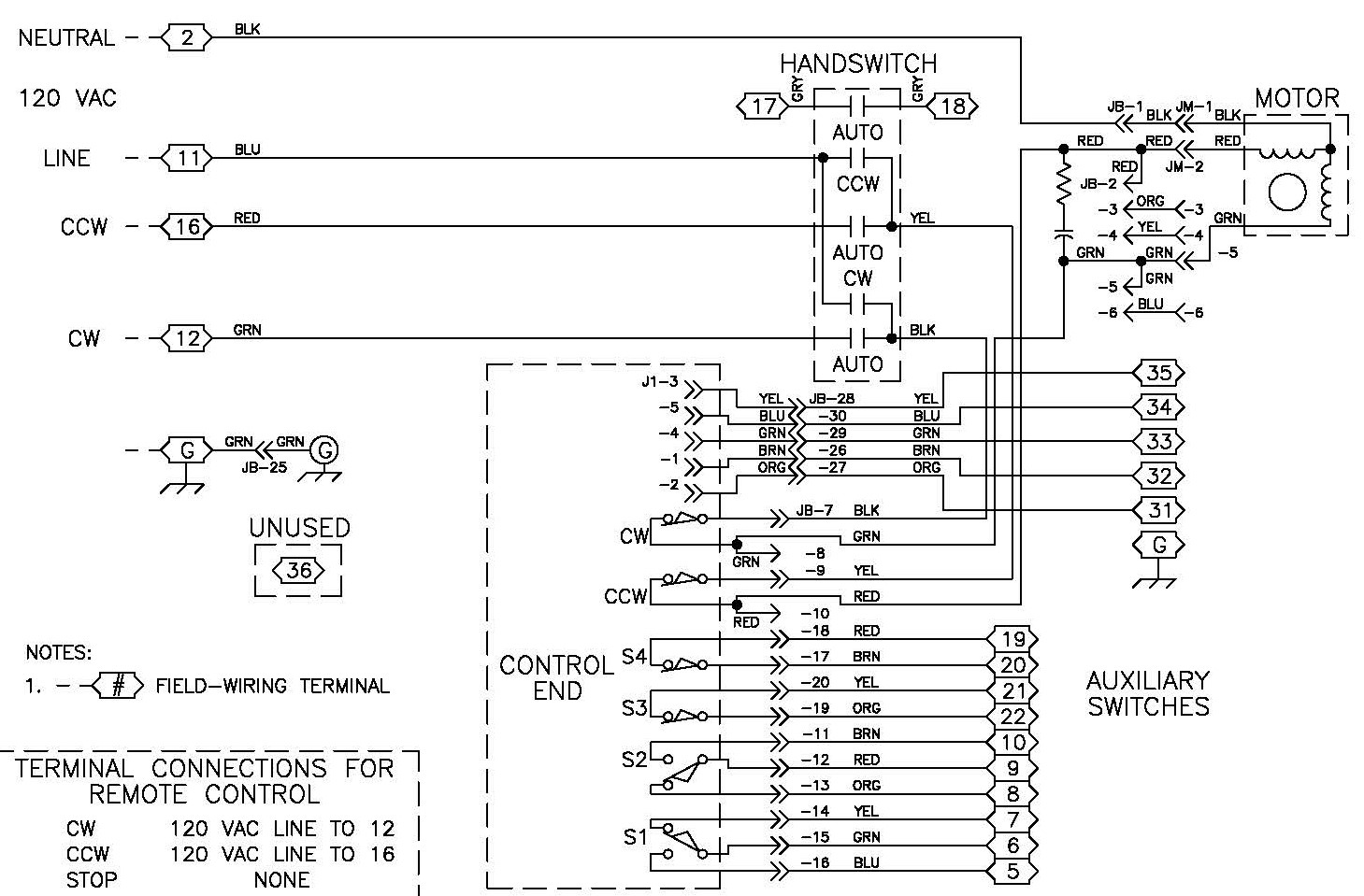 ac potentiometer wiring