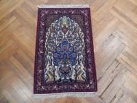 Wall Art Work 2x4 VERY FINE Wool & Silk Persian Qum Rug | eBay