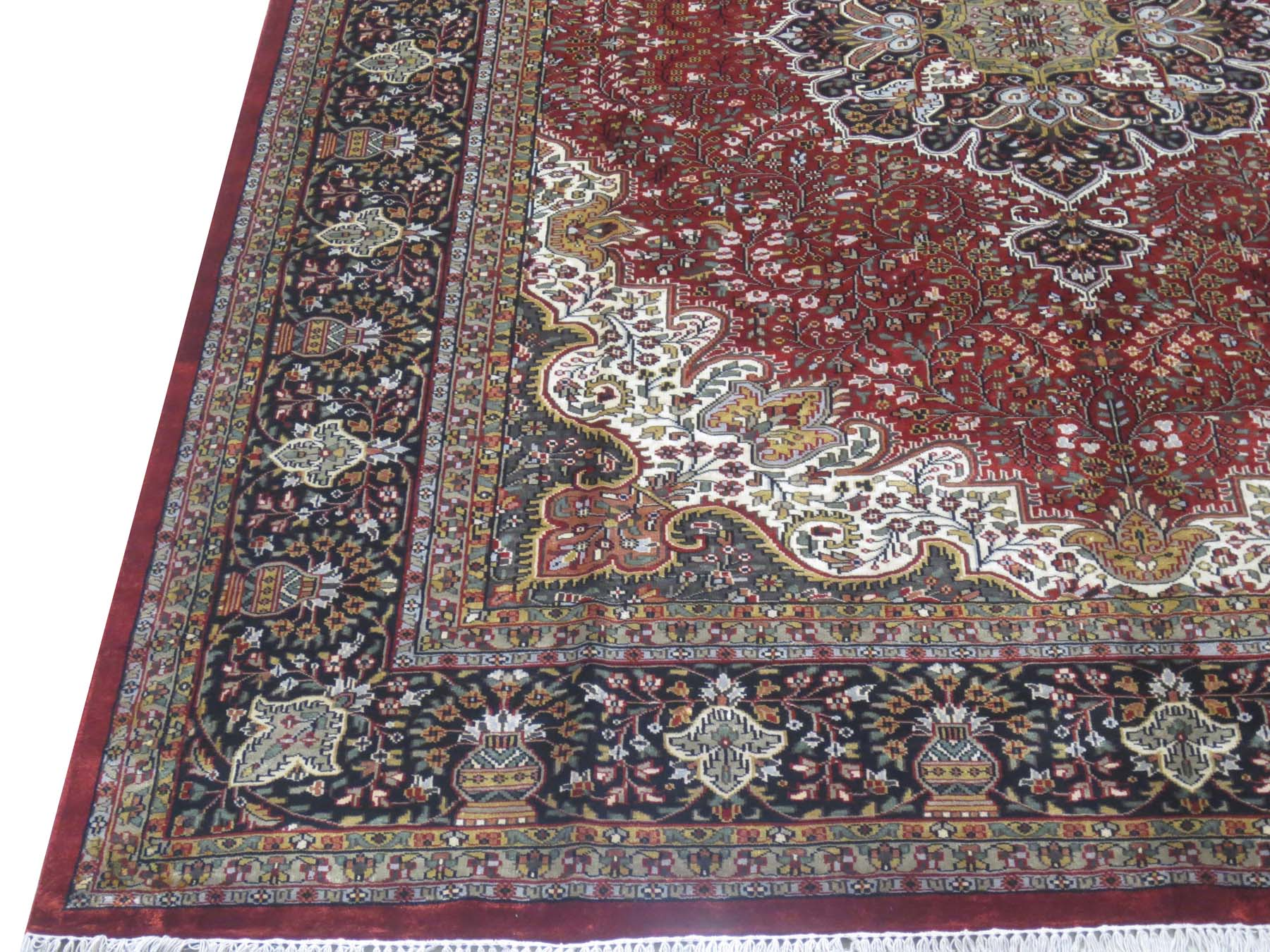 Srinagar Rugs Sale Hand Knotted 839 X 1139 North Indian