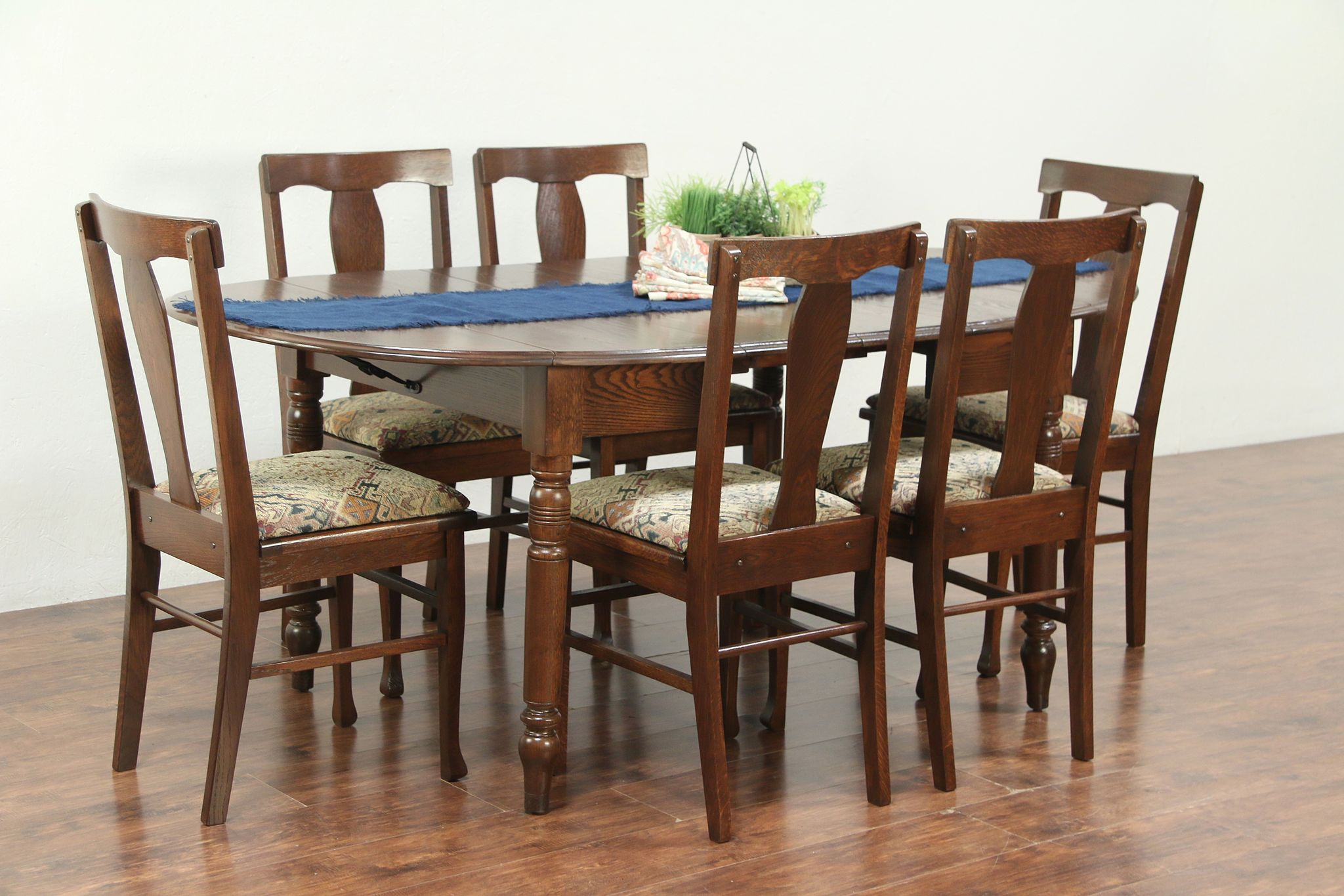 Antique Drop Leaf Dining Table And Chairs Dining Table