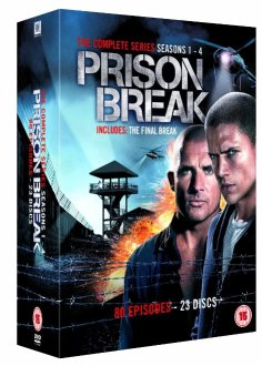 Prison Break 1-4 DVD