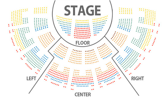 Seating Chart - Harrisburg Symphony Orchestra