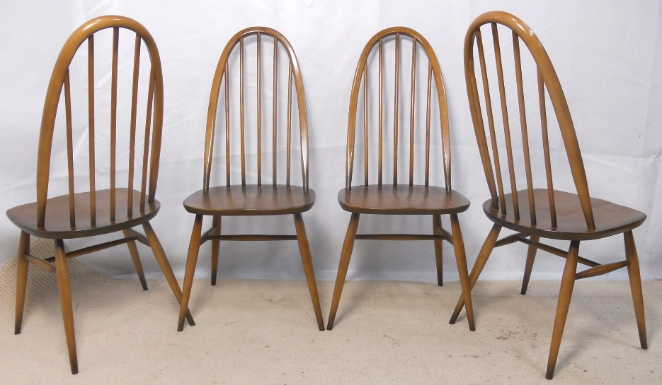 Ercol+Dining+Table+and+Four+Chairs, £36500 Ercol Pinterest