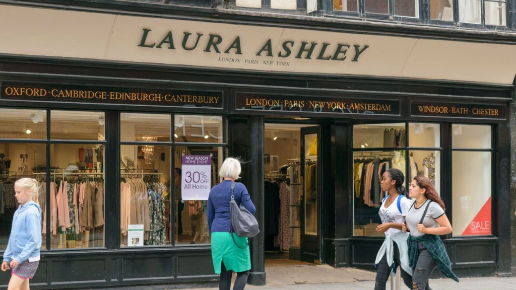 AGENDA WEST Business News: another day another retailer in trouble with Laura Ashley on the brink of collapse as the owners meet with their lenders after the stores lost millions last year