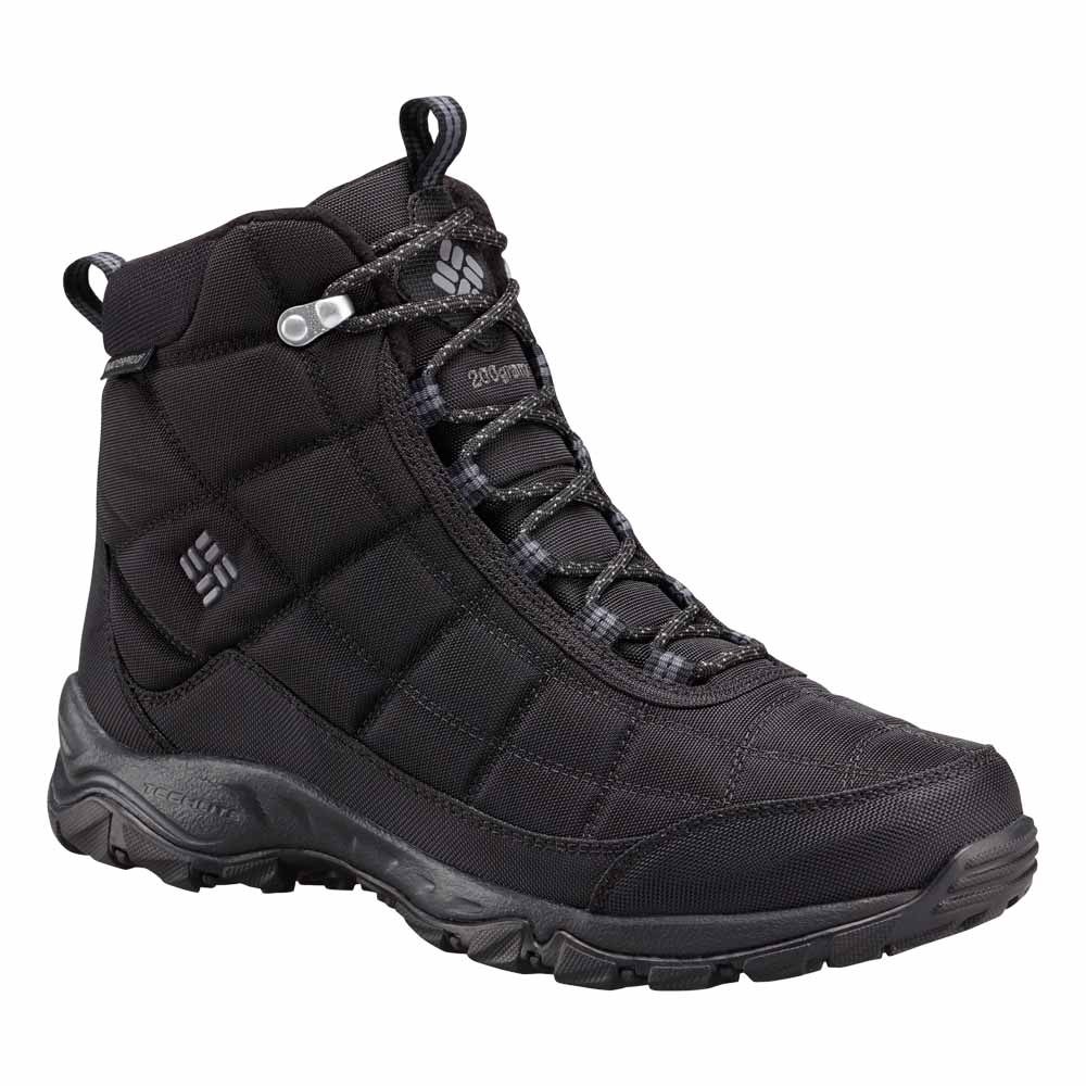 Columbia Firecamp Men39s Black Winter Boot 1672881010