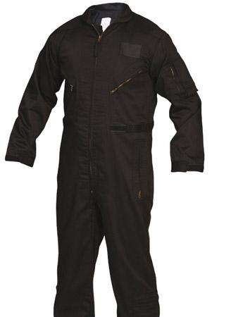 Black Military Style Jumpsuit