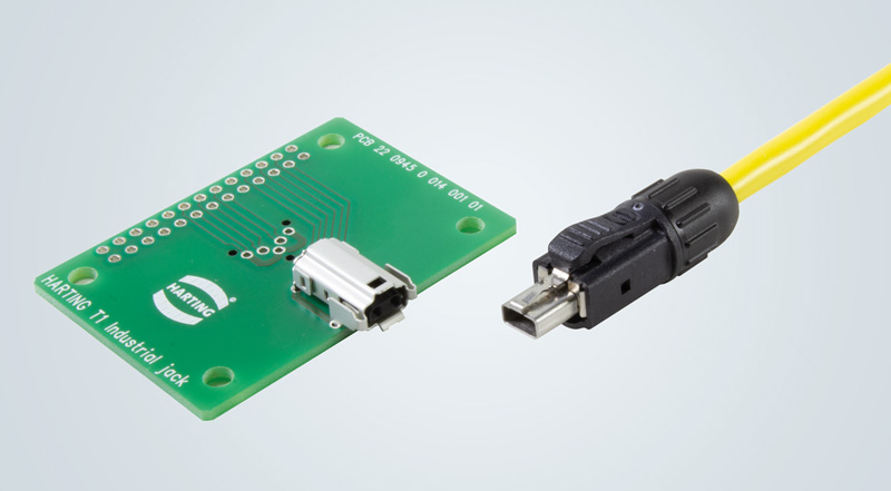 Single Pair Ethernet \u2013 HARTING T1 Industrial HARTING Technology Group