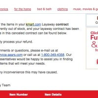 Kmart's Online Layaway Program Ruins The Holiday For Many...