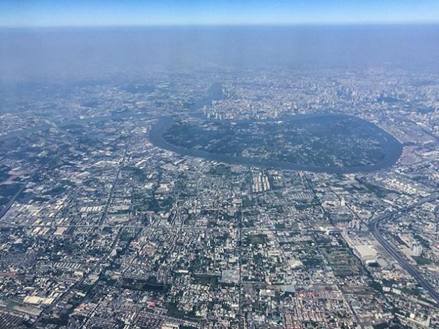 Heart shaped river in Bangkok