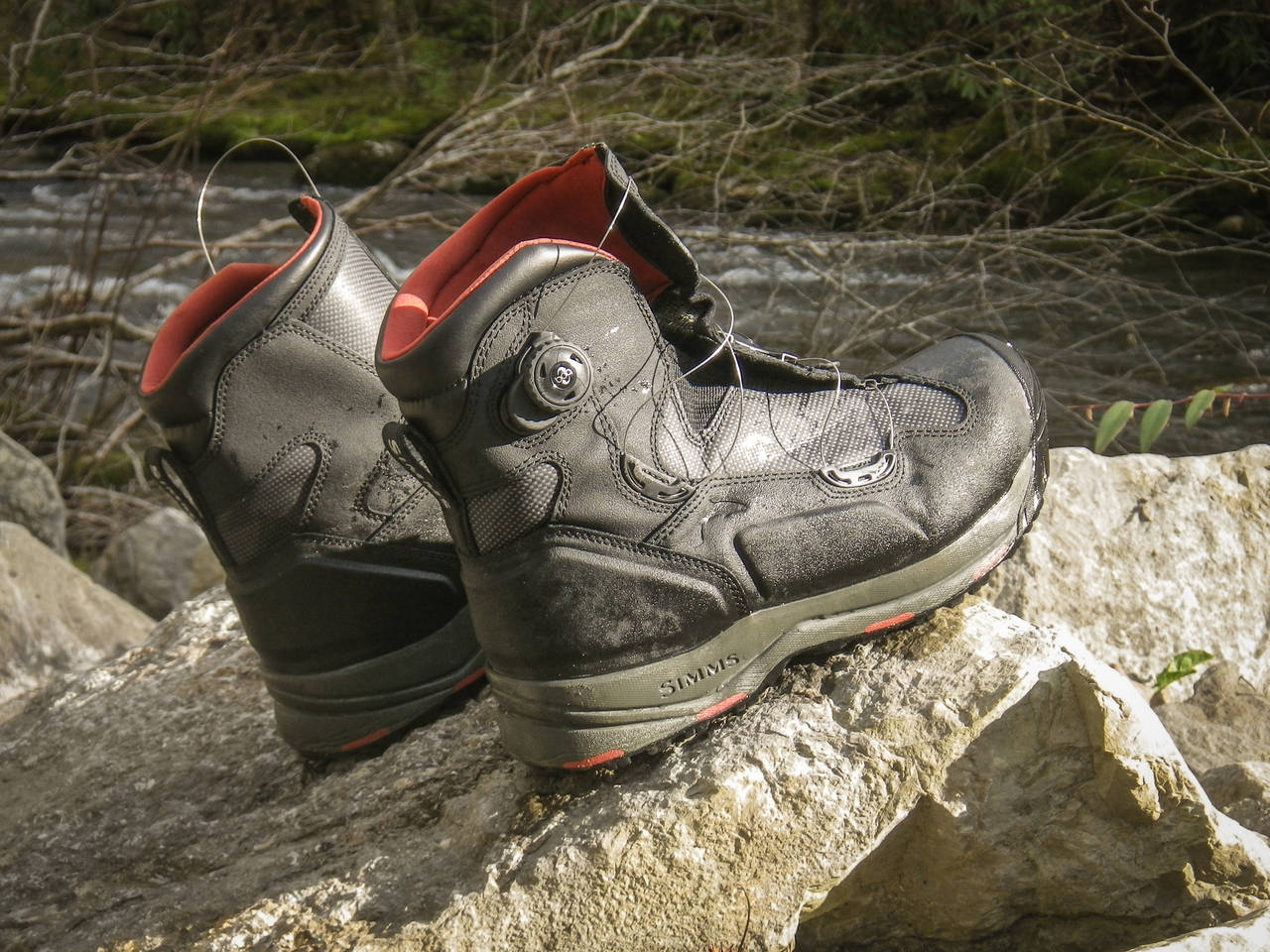 Review Simms G4 Boa Boot Hatch Magazine Fly Fishing Etc
