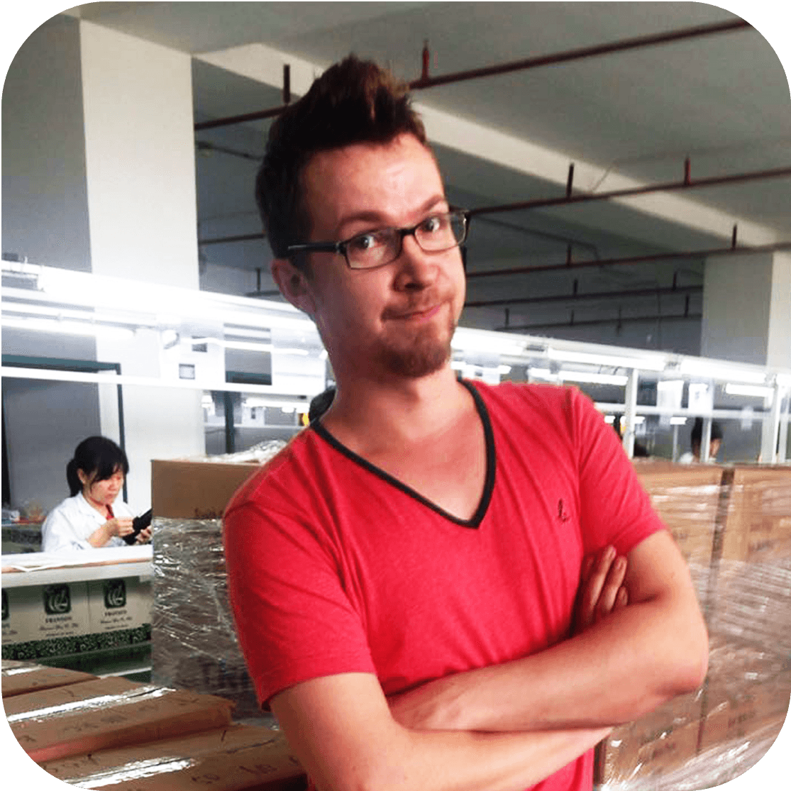 Hatch QC expert Aleksey Surovtsev