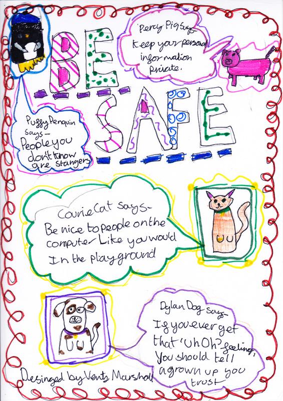 eSafety  Internet Safety - Hathern Primary School - poster on line