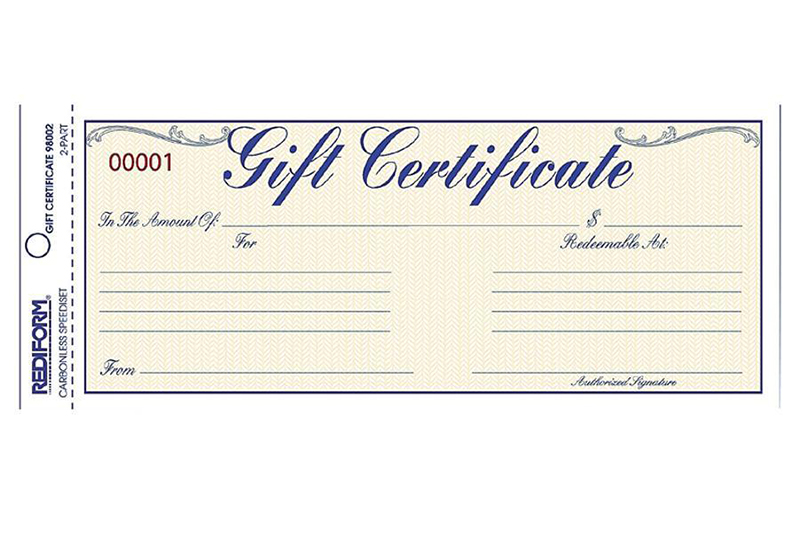Gift Certificates Hatsationa!