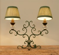 Pair Of French 1940's Table Lamps | Haunt - Antiques for ...