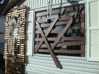 Boarded-Up Windows | Haunted Yards DOT Com