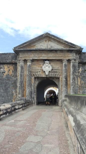 Entrance into El Morro