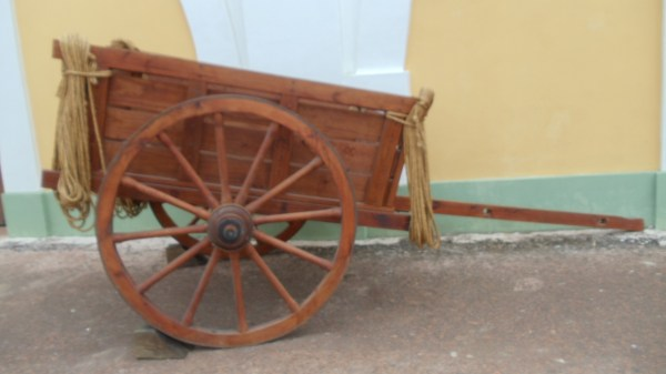What sorts of things did this cart used to haul? Ammunition? Food? Other supplies?