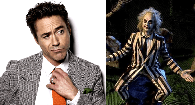 Robert Downey Jr. to be the New Beetlejuice?