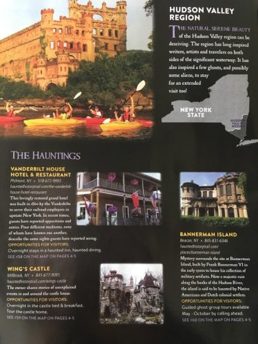 Haunted History Trail of NY brochures 2