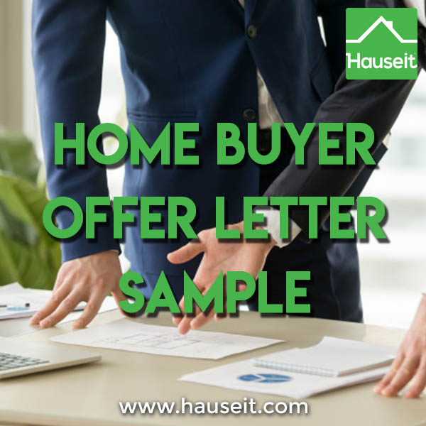 Home Buyer Offer Letter Sample Hauseit NYC