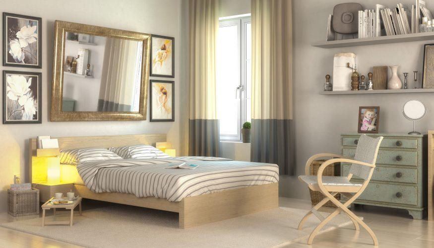 Kleines Schlafzimmer optimal einrichten - 8 Ideen vorgestellt - kleines schlafzimmer ideen
