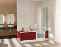 Dusche und Badewanne in Einem  hausidee.dehausidee.de