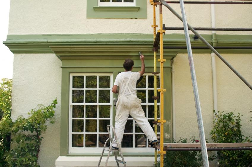 Hausfassade streichen » Die Kosten im Überblick - was kostet fassade streichen