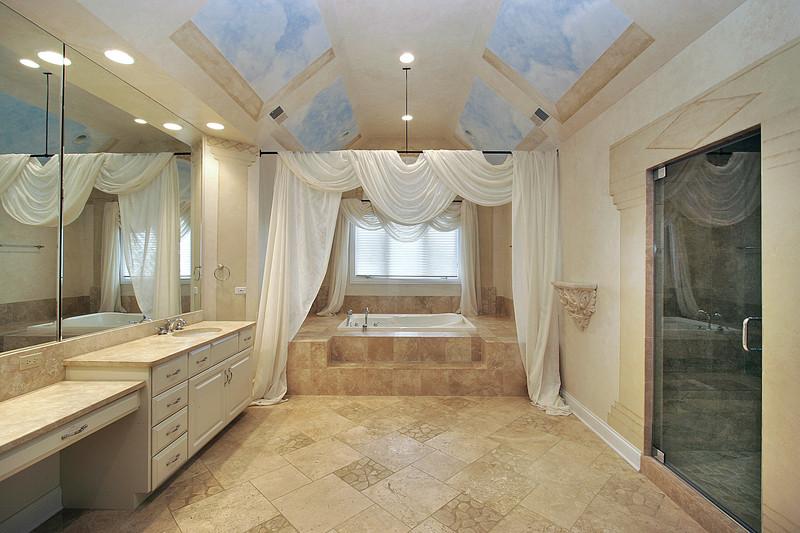 Bad Fliesen - Kosten für Material und Handwerker am Beispiel berechnet - badezimmer 6 qm kosten