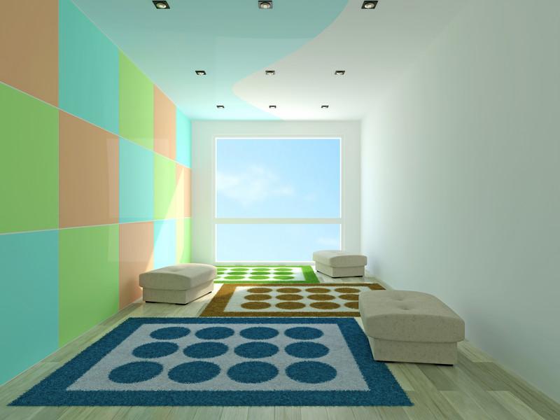 Wand streichen ohne Tapete » Das ist zu beachten - wande streichen farbe
