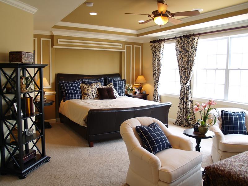 Ideen zum Schlafzimmer streichen » Für einen ruhigen Schlaf - schlafzimmer wie streichen