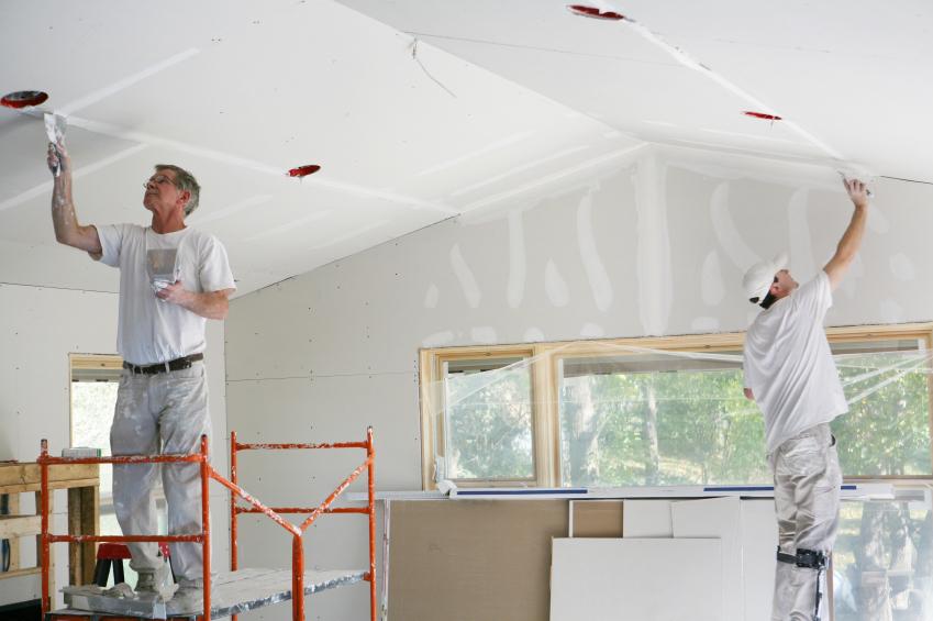 Zimmerdecke renovieren » Diese Optionen gibt es - zimmerdecke tapezieren