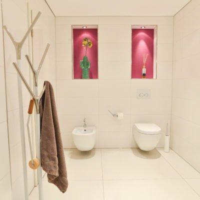 NOWAK GmbH Bad-Referenz Pink ist trumpf Bergisch Gladbach - badezimmer pink