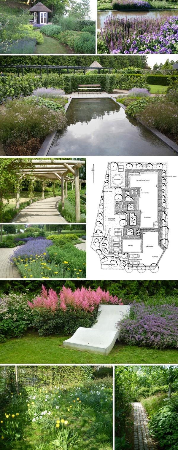 Haveplaner og haver tegnet af havearkitekt Merete Høgsaa