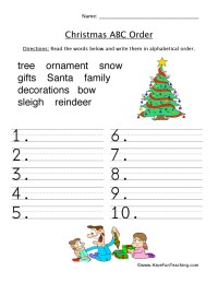 Resources | Holidays | Christmas | Worksheets