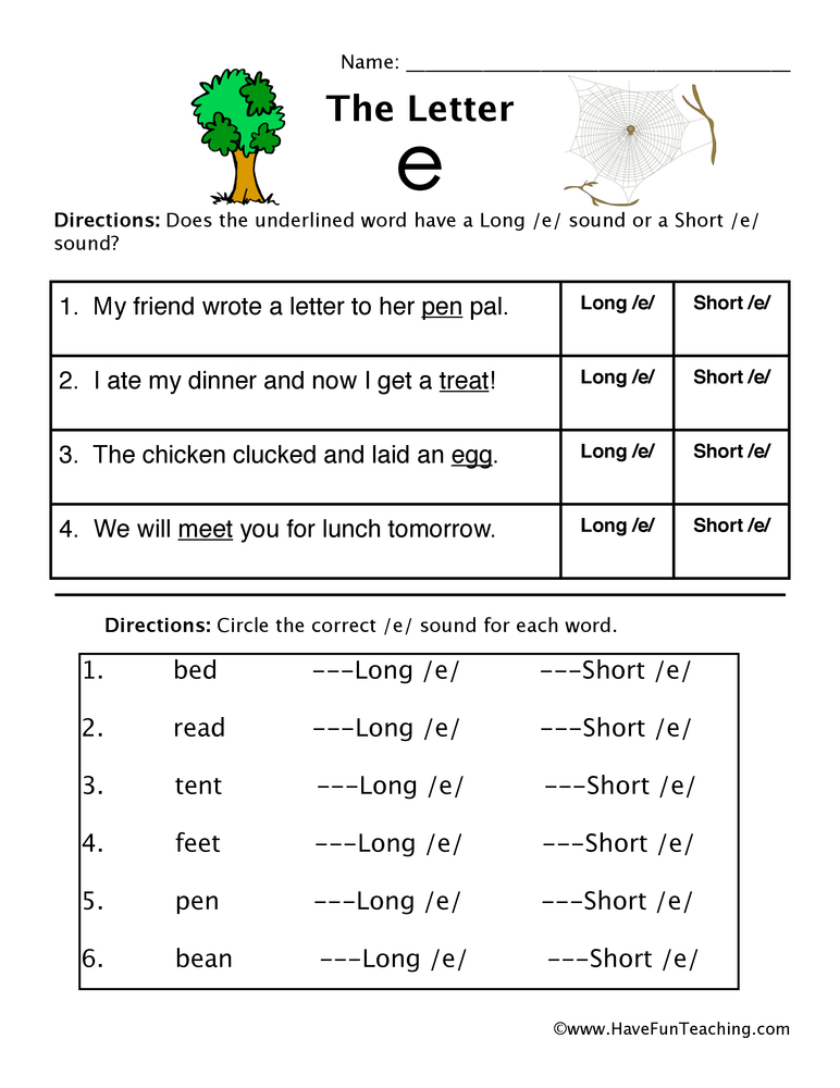 Fall Writing For First Grade By First Grade Schoolhouse Tpt Short Vowel E And Long Vowel E Worksheet Have Fun Teaching