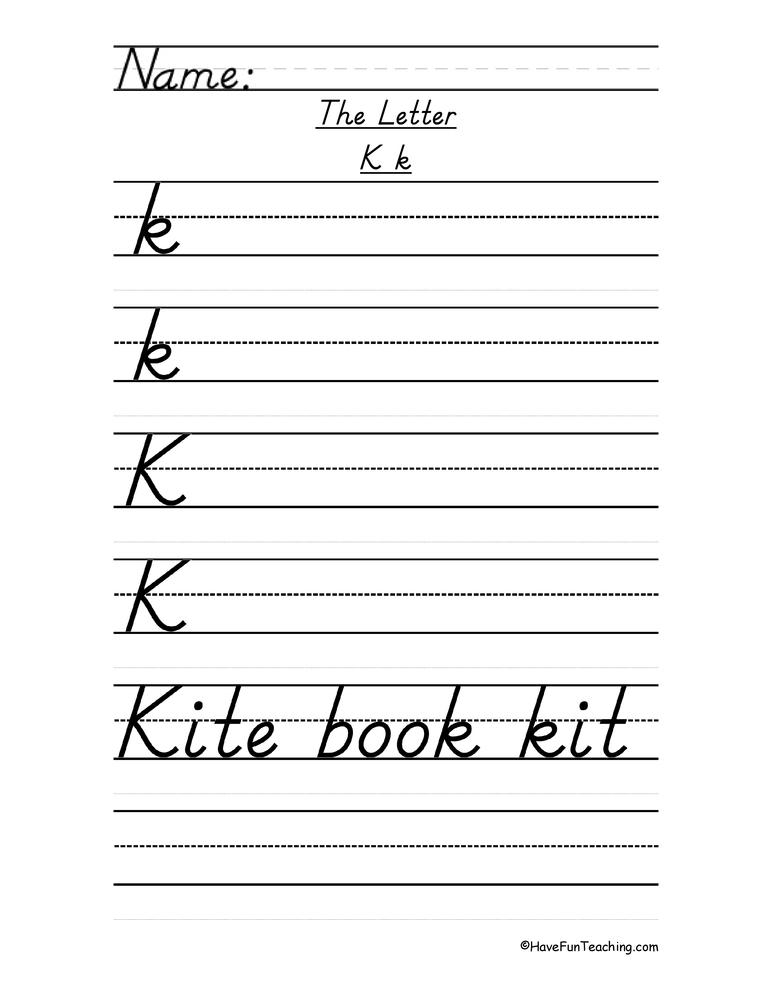 Resources Writing Handwriting Worksheets