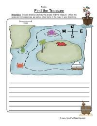 Map Skills Worksheet