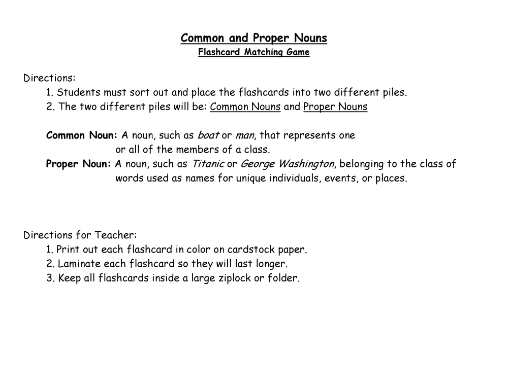 Resources Flash Cards