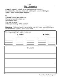 Printable Worksheets  Haiku Worksheets