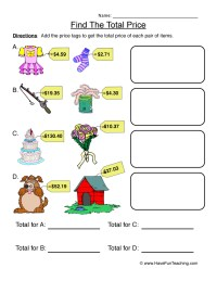 Money Worksheets | Have Fun Teaching