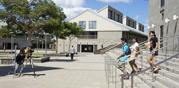 UH West Oahu campus shot