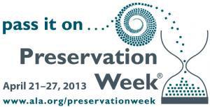 Preservation week logo