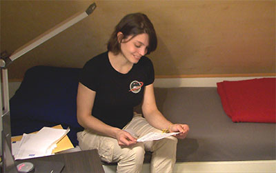 HI-SEAS crew member Lucie Poulet