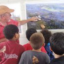 Pāhoa school students tour lava flow