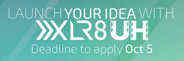 XLR8UH fall 2016 apply now banner