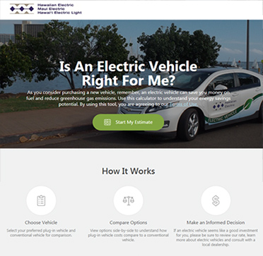 Hawaiian Electric Companies offer improved online calculator to help