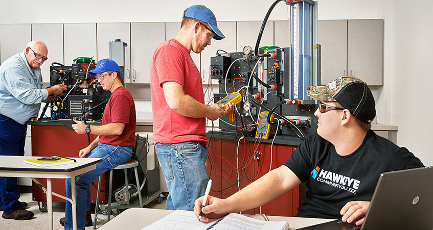 Industrial Maintenance Short-Term Training Program - Hawkeye