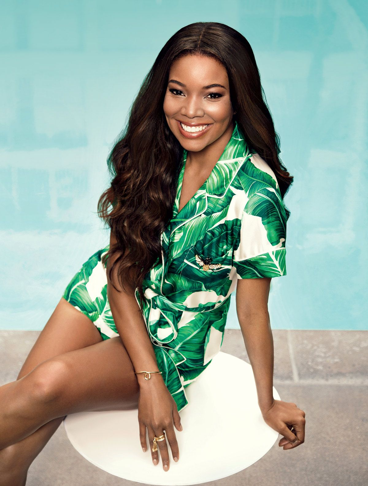 Chic Wallpaper For Iphone Gabrielle Union In Ocean Drive Magazine April 2016 Issue